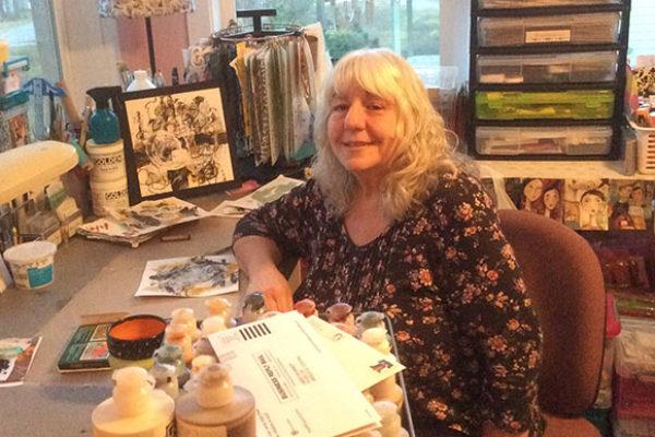 Artist Marilyn Sandau