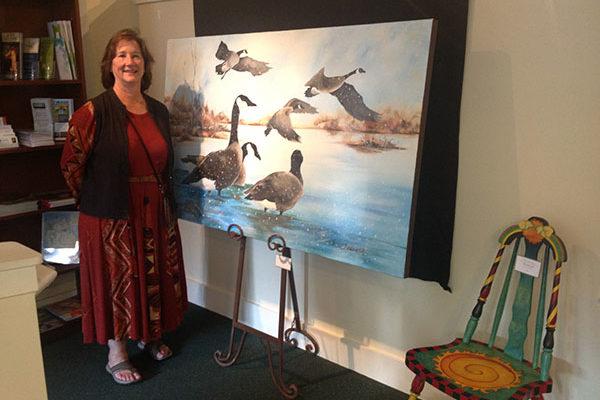 Artist Sue Stanton, Port Townsend, WA