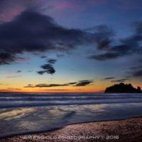 Quellete Sunset - Jim Fagiolo Photography