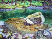 "David Dickinson, © 2016 ""Soleducki River Clarity"""