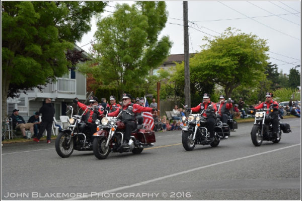 Rhododendron Parade, 2015, Port Townsend, WA