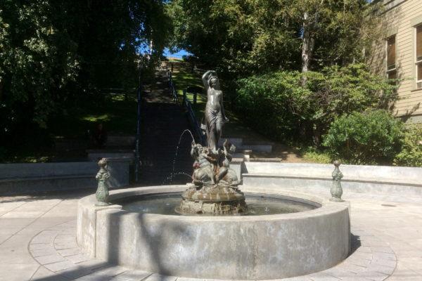 Fountain, Port Townsend, WA