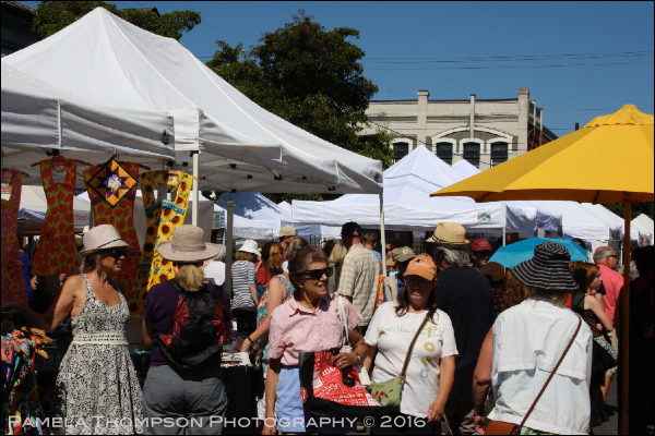 Uptown Street Fair, 2016, Port Townsend, WA