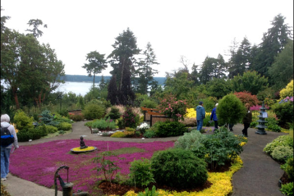 Master Gardeners Secret Garden Tour, 2016. Port Townsend, WA