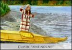 Alutiiq Dancer, Nucheck (Nuuciq), Sanda Smith-Poling