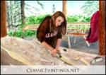 Baidarka Paddle Making, Sandra Smtih-Poling