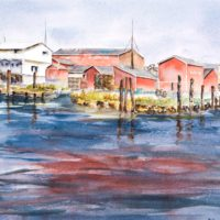 Ilwaco Harbor, JoAnn Raines © 2017 www.discoverporttownsend.com